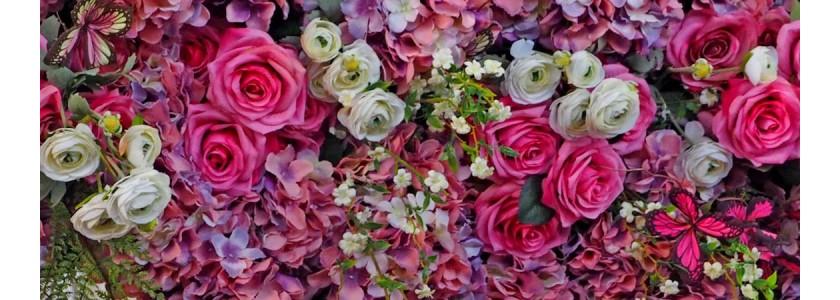 Кошници с рози