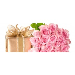 Рози и подаръци