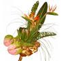 Flamingo - Exotic flower bouquet