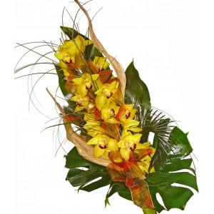 Elegant wish - orchids bouquet