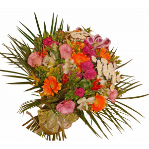Deborah - Mixed flowers bouquet