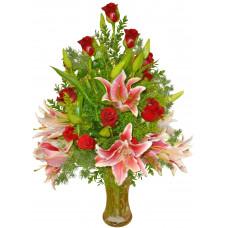 Мерседес - Букет с цветя