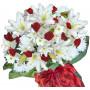 Наташа - Букет с рози и лилиум