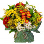 Assorted daisies - Chrysanthemum bouquet