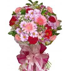 Барбара - Букет цветя микс