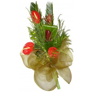 Electra Red - Anthurium bouquet