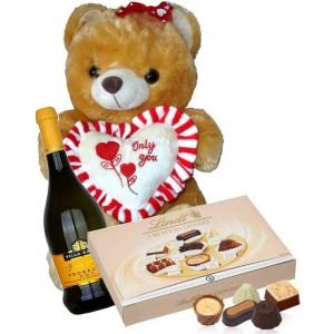 Philip - bear, wine and chocolates