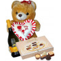 Philip - bear, wine and chocolates